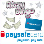 Ritzy Bingo introduce Pay Safe Cards