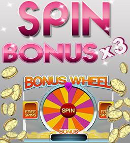 Spin Bonus x 3
